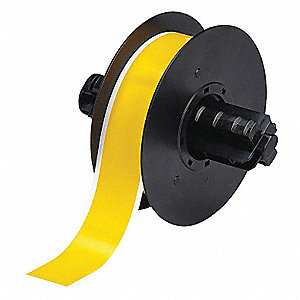TAPE YELLOW 100 FT. L 1-1/8 IN. W