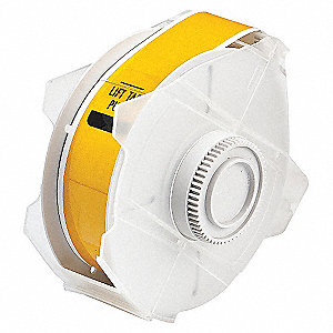 TAPE YELLOW 50 FT. L 1-1/8 IN. W
