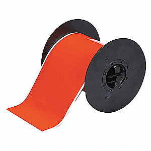 TAPE ORANGE 4 IN. W 50 FT. L