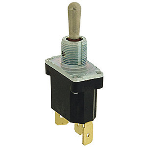 Toggle Switch, Number of Connections: 2, Switch Function: Momentary On/Off