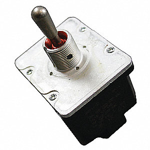 Toggle Switch, Number of Connections: 12, Switch Function: Momentary On/Off/On