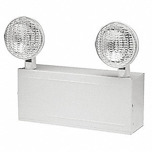 Incandescent Emergency Light, Wall Mounting