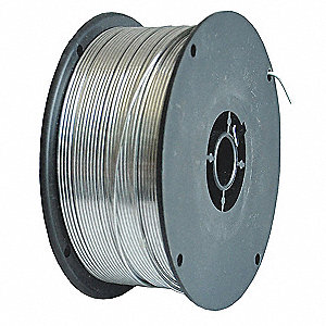 "2 lb. Carbon Steel Spool MIG Welding Wire with 0.035"" Diameter and E71T-GS AWS Classification"