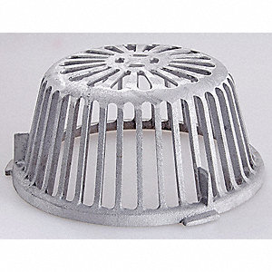 Jay R Smith Mfg Co Roof Drain Dome For Use With 1010 Series Roof Drain 24e552 1010ad Grainger