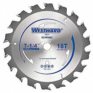 Westward circular saw blades7 14 in18t 24el5724el57 grainger circular saw blades7 14 in18t greentooth Images