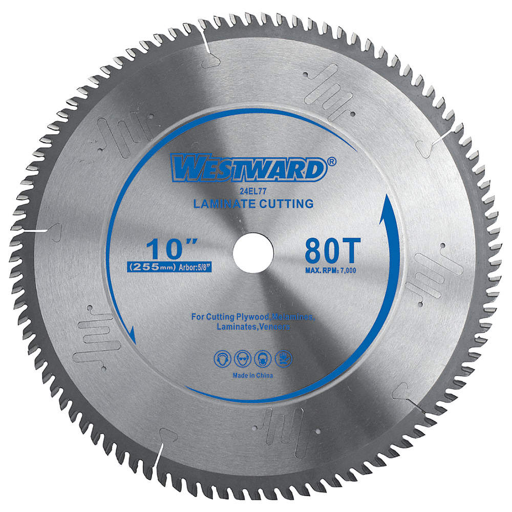 Westward circular saw blade10 in80t 24el7724el77 grainger zoom outreset put photo at full zoom then double click greentooth Gallery
