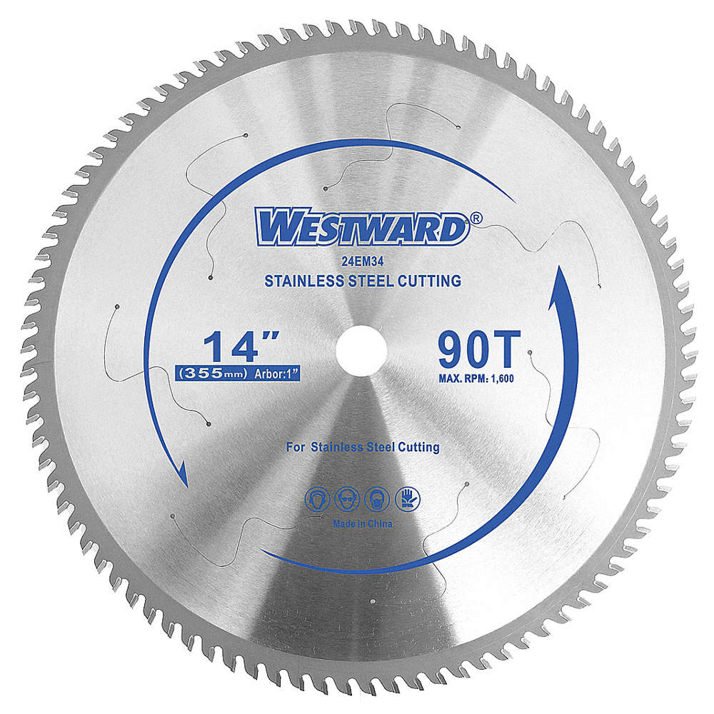 Westward 14 carbide stainless steel cutting circular saw blade zoom outreset put photo at full zoom then double click greentooth Gallery