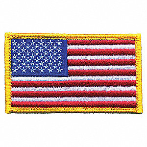 Rayon/Polyester Embroidered Patch