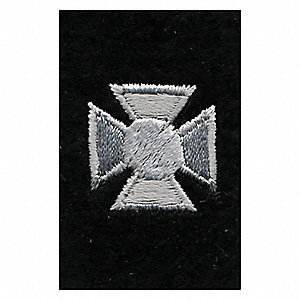 Rayon/Polyester Embroidered Patch, Law Enforcement, Fire-Rescue Industry Type
