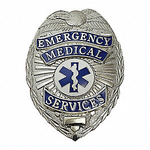 Metal Badge,Emergency Medical Services