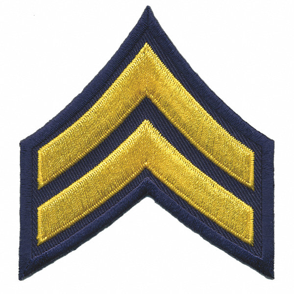 Heros Pride Rayon Polyester Embroidered Patch Law