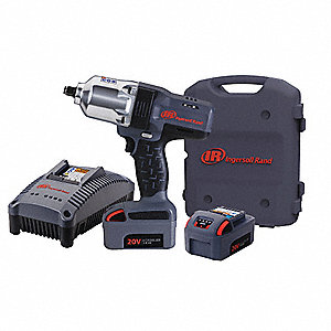 "1/2"" Cordless Impact Wrench Kit, 20.0 Voltage, 780 ft.-lb. Max. Torque, Battery Included"