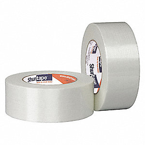 55m 6.7 mil Cast Polyester (PET) Film/Fiberglass Reinforced Filament Tape, Clear