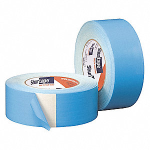 33m x 48mm Double-Coated Cloth Duct Tape, Blue