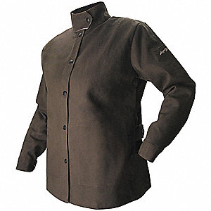 Womens Welding Jacket,FR,Cotton,L