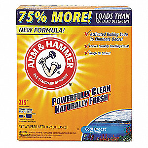 14.22 lb. Powder Laundry Detergent, 2 PK