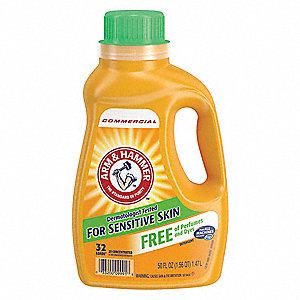 Laundry Detergent 50 Oz Jug Unscented Liquid 8 Pk