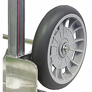 Balloon Cushion Wheel,2-1/4 in Hub,300lb