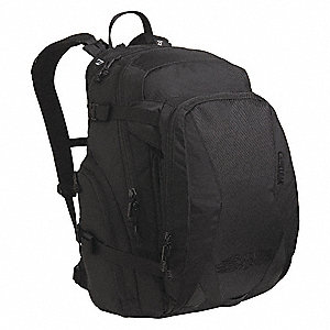 "Black Hydration Pack, 70 oz./2L Capacity, Depth 2-3/4"", Length 16-1/4"", Width 7"""