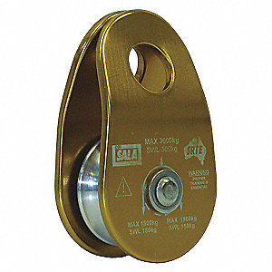 PULLEY RIGGING 1 SNG SHV UP TO 11MM