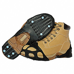 Unisex Pull On Ice Traction Device, Traction Type: Stud, Fits Shoe Size: 10-1/2 to 13