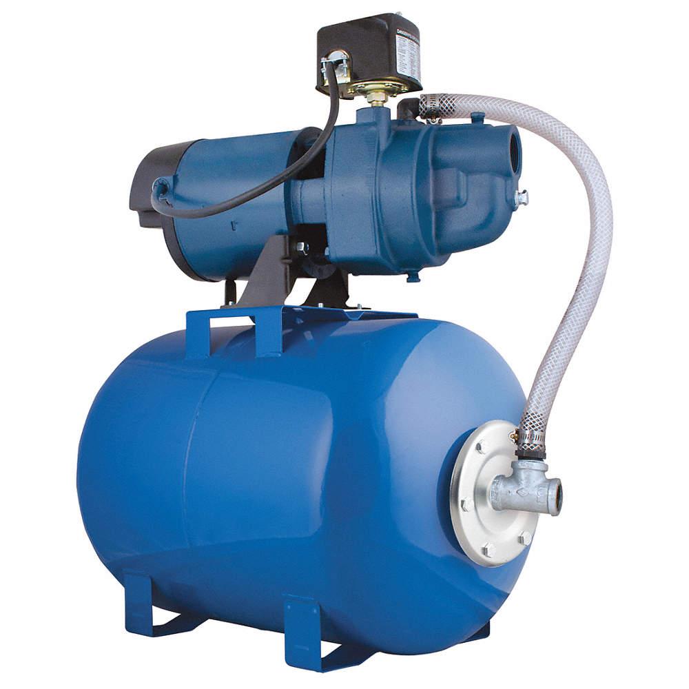Flint Walling Ek05sat25h Well Jet Pump System 1 2 Hp 8 5 Gal Tank 54757004507 Ebay