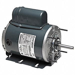 1/4 HP Aeration Fan Motor,Permanent Split Capacitor,1625 Nameplate RPM,115/230 Voltage,Frame 48Z