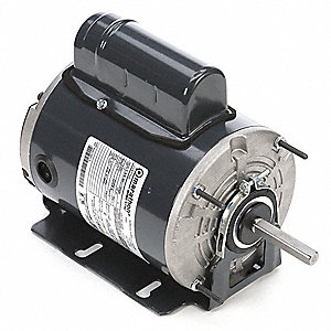 1/3 HP Agricultural Fan Motor,Permanent Split Capacitor,1075 Nameplate RPM,115/230 Voltage