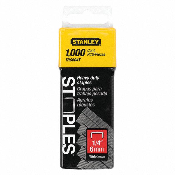 stanley wide crown staple 1 2 1 4 in leg pk1000 24t348