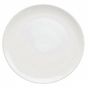 Coupe Plate,12 In,White,PK12