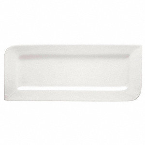 Rectangular Tray,White,PK12