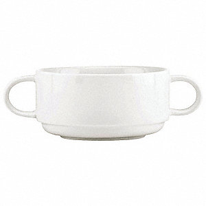 Soup Cup,Dbl Handle10 oz.,PK12