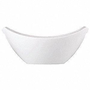 Serving Bowl,White,64 oz.,PK12