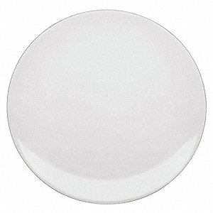 Coupe Plate, 8 In, White, PK12