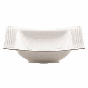 Bowl,White,7 In,12 oz.,PK12