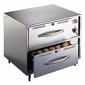 Double Drawer Warmer,900 Watt
