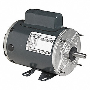1/2 HP Poultry Fan Motor,Permanent Split Capacitor,850 Nameplate RPM,208-230 Voltage,Frame 56Y