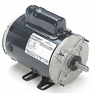 1/2 HP Agricultural Fan Motor,Permanent Split Capacitor,850 Nameplate RPM,208-230 Voltage