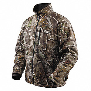 Men's Camo M12® Heated Jacket Kit, Size: M, Battery Included: Yes