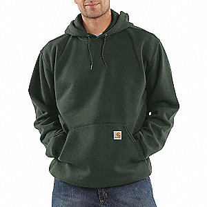 10.5 OZ HOOD/SWEATSHIRT OLIVE XL