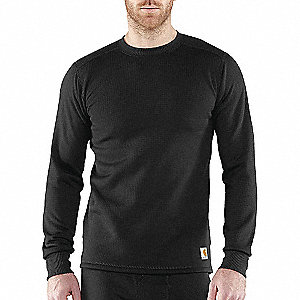 FORCE POLY COOL WEATHER TOP BLK L