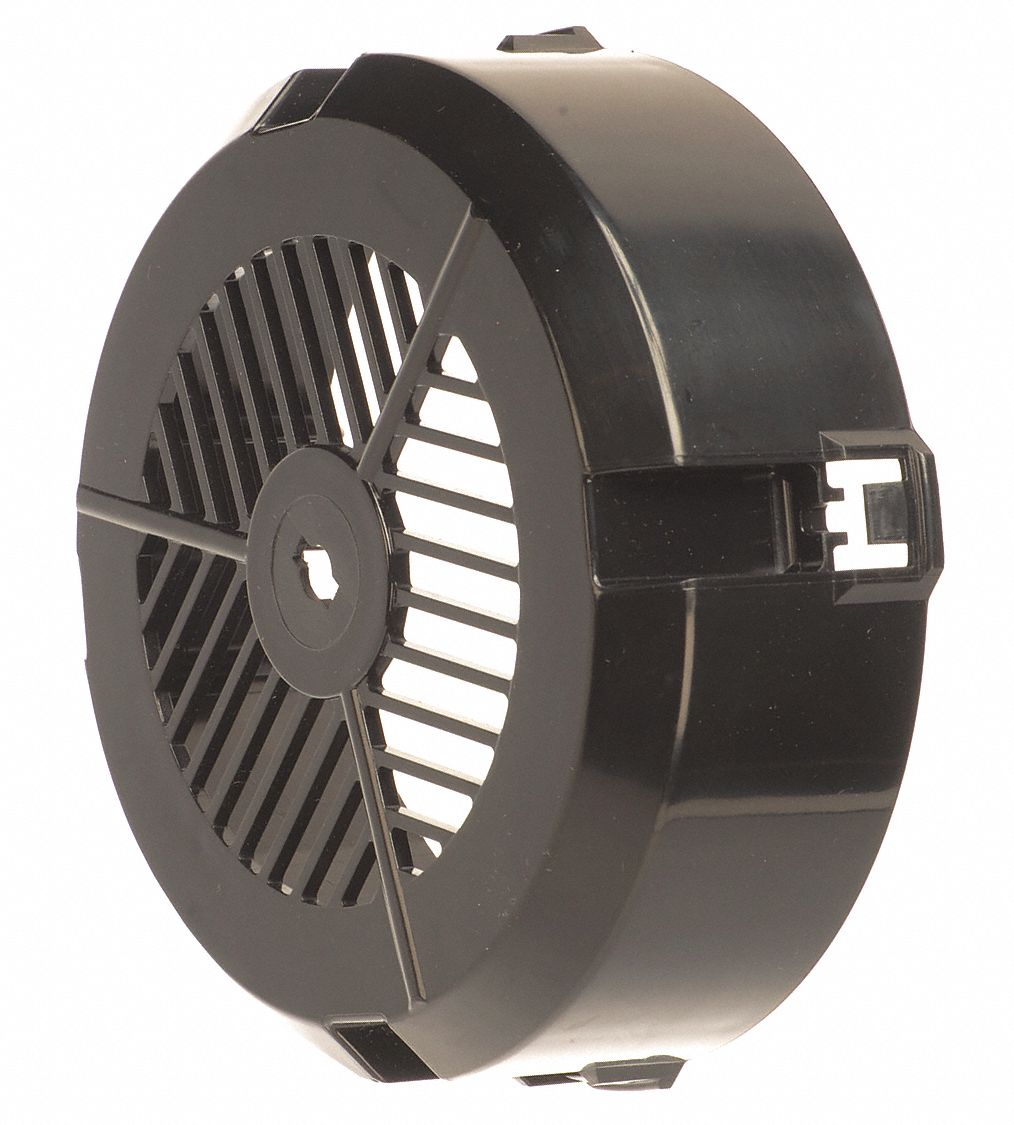External Cooling Fan Cover,  Plastic