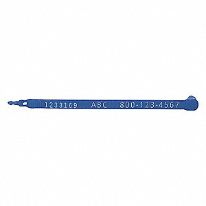 7.5IN. BLUE INDICATIVE PLTRUCK SEAL