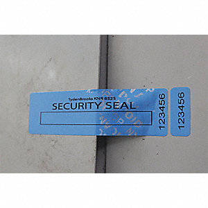 VOID BLUE SECURITY LABEL 85 X 25