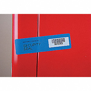 VOID BLUE SECURITY LABEL 110 X 30 1000RL
