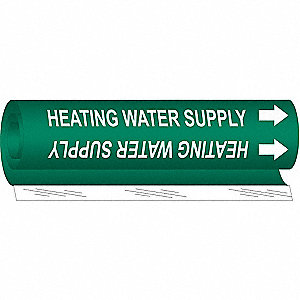 Pipe Marker,Heating Water Supply