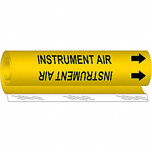 Pipe Marker,Instrument Air