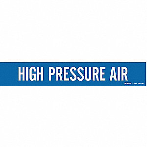 Pipe Marker,High Pressure Air