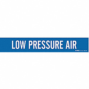Pipe Marker,Low Pressure Air