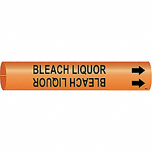 Pipe Marker,Bleach Liquor